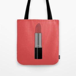 Lipstick Design Tote Bag
