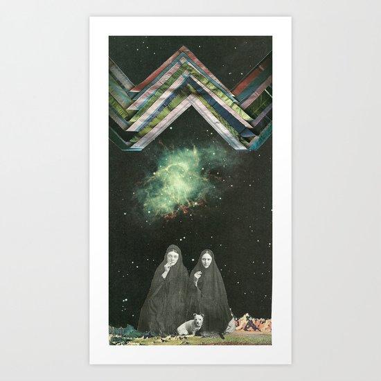 Space Sirens: Crone Sisters Art Print