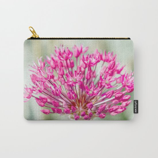 Ornamental Onion Flower Carry-All Pouch