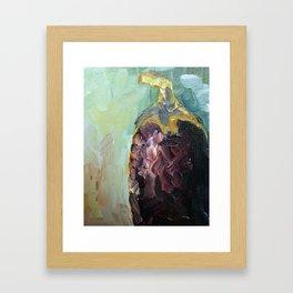 Eggplant Framed Art Print