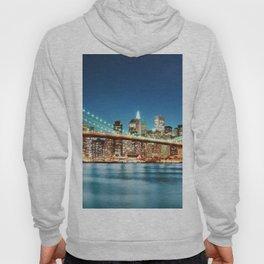 Brooklyn Bridge at Twilight Hoody