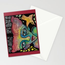 Justice will not be served Stationery Cards