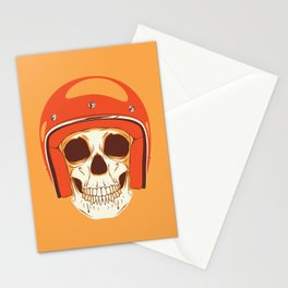 Helmet Skull Stationery Cards