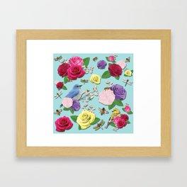 Martha's Garden Framed Art Print