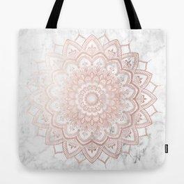 Pleasure Rose Gold Tote Bag
