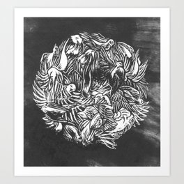 Canaries Art Print