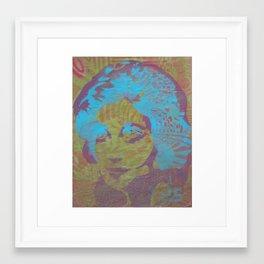 Glamor Girl Framed Art Print