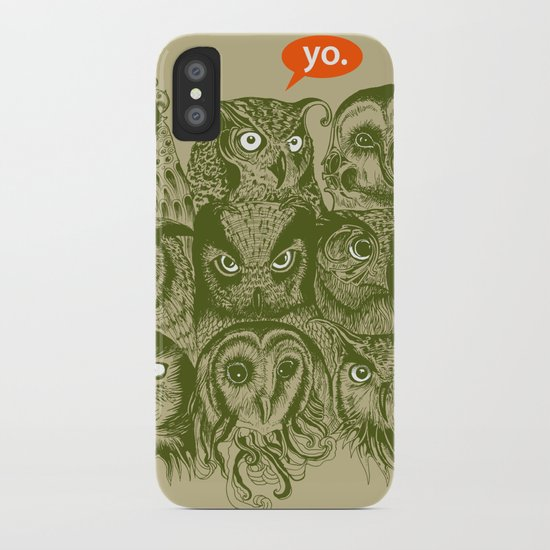 Wisdom to the Nines iPhone Case
