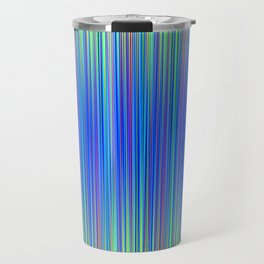 Lines 177 in Blue Travel Mug