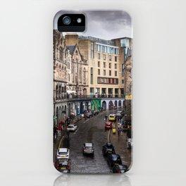 Victoria Street in Edinburgh, Scotland iPhone Case