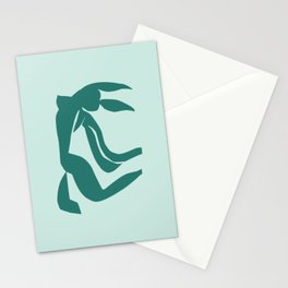 matisse abstract female Stationery Cards