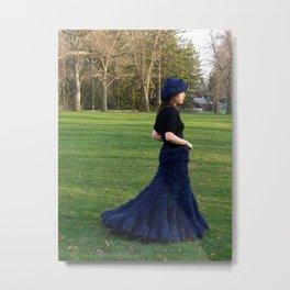Land Mermaid Metal Print