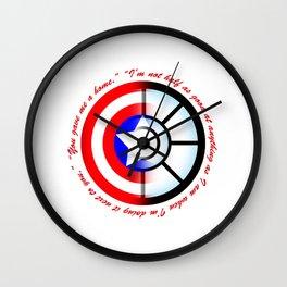 SteveTony - Encircling Quotes Wall Clock