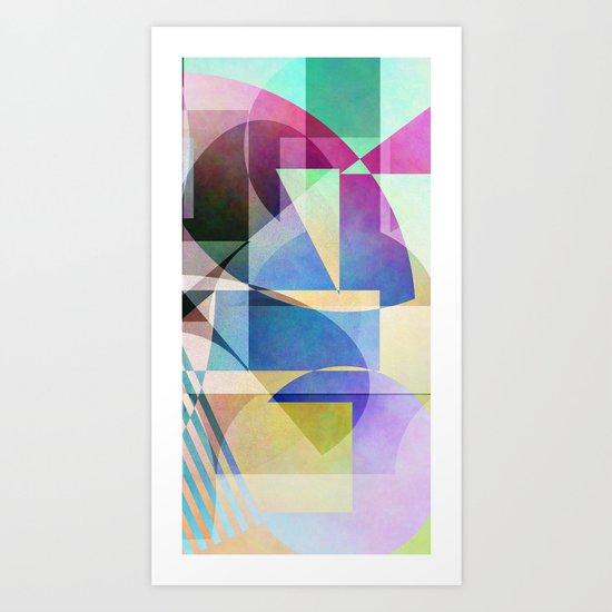 Abstract 2017 030 Art Print