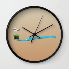 toothbrush Wall Clock