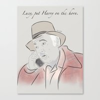 martell Canvas Prints featuring Pete Martell by Isn't It Too Dreamy | NC Illustration