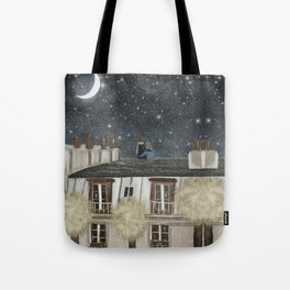 moonlit wishes with you Tote Bag