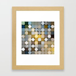 CIRCLE COMPOSITION no.21 Framed Art Print