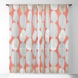 Mama was a Rolling Stone Sheer Curtain