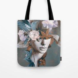 Floral Portrait 11 Tote Bag