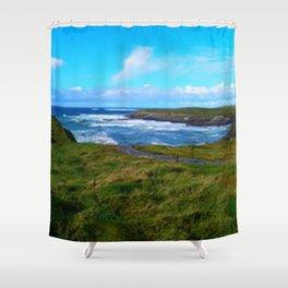 Photo, Spanish Point, Ireland Shower Curtain