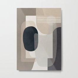 Abstract Geometric Art 52 Metal Print