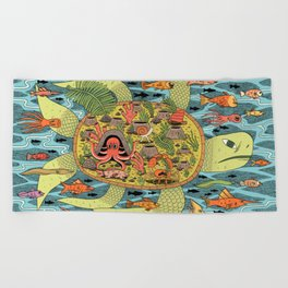 Giant Turtle Beach Towel