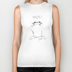 Frog in your throat? Biker Tank