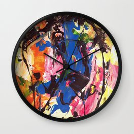 Abstract by azam Wall Clock