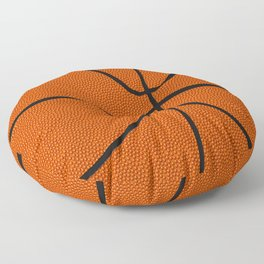 Fantasy Basketball Super Fan Free Throw Floor Pillow