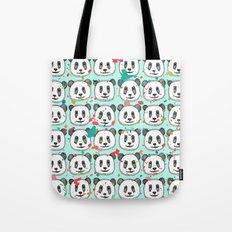 splatter pop panda cookies mint Tote Bag