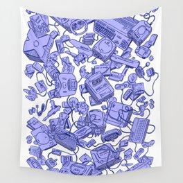 Retro Gamer - Blue Wall Tapestry