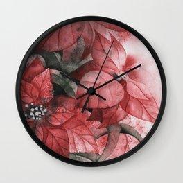 Flower series Wall Clock