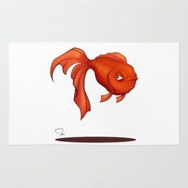 My Digital Zoo - Goldfish Rug