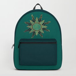 Sun King's Delight - Aquamarine Backpack