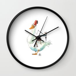 Numero 9 -Cosi che cavalcano Cose - Things that ride Things- NUOVA SERIE - NEW SERIES Wall Clock