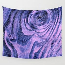 Purple Haze Melodic, Lyrical Pattern Wall Tapestry