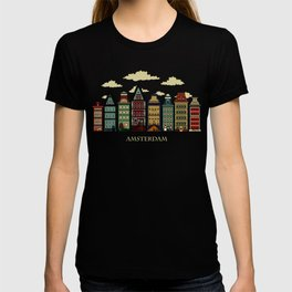 Amsterdam red T-shirt