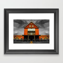 Insane Asylum at CT Framed Art Print