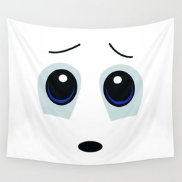 Vulnerable Smiley Face Wall Tapestry