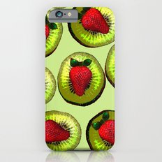KIWI AND STRAWBERRY COCKTAIL Slim Case iPhone 6s