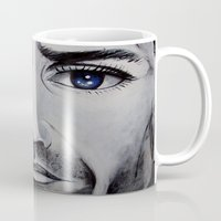 brave Mugs featuring BRAVE by John McGlynn