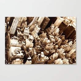NYC - Big Apple from Empire  Canvas Print