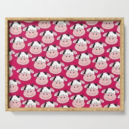 Moo Cows Serving Tray