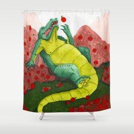 Allison's Alligator Shower Curtain