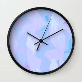 ABSTRACTION LIGHT Wall Clock