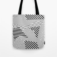 games Tote Bags featuring Beach Games by Tyler Spangler