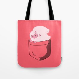 Lion Pocket Tee Tote Bag
