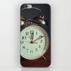 Ticking Clock iPhone & iPod Skin