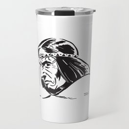 American Indian by PPereyra Travel Mug